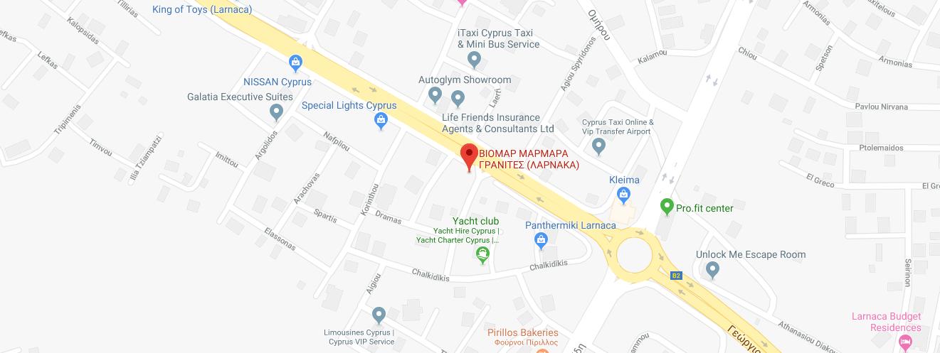 viomar larnaca map