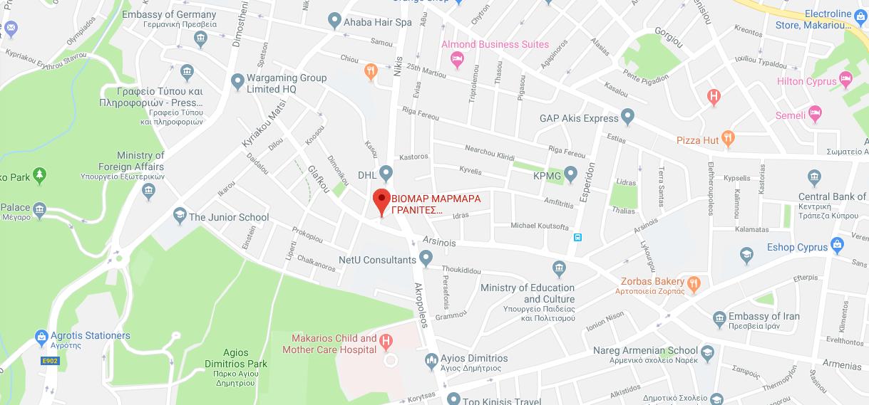 viomar nicosia map